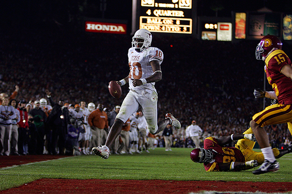 Vince Young in 2006 BCS Championship