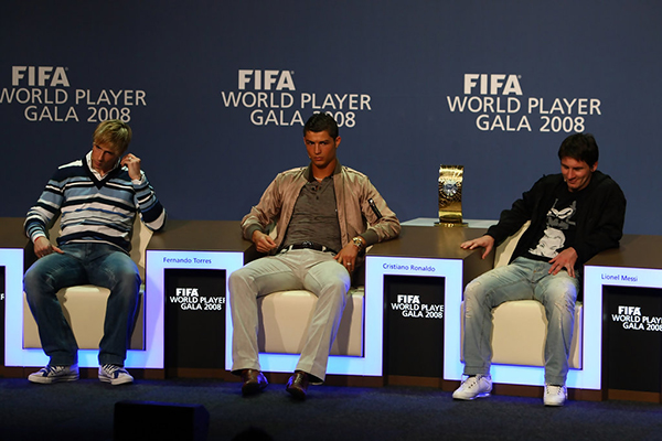 FIFA World Player, 2008