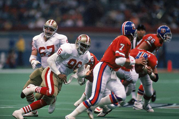 John Elway in Super Bowl XXIV
