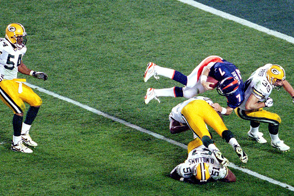 John Elway in Super Bowl XXXII