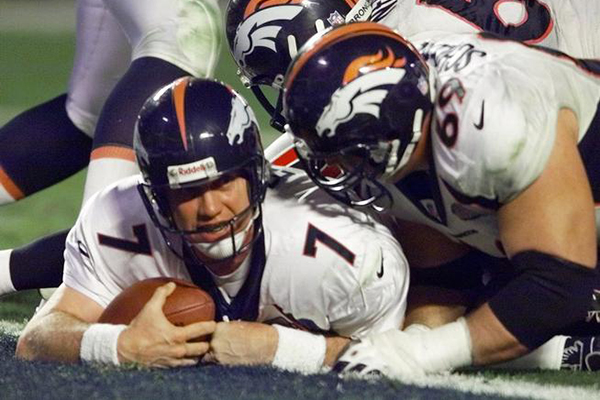 John Elway in Super Bowl XXXIII