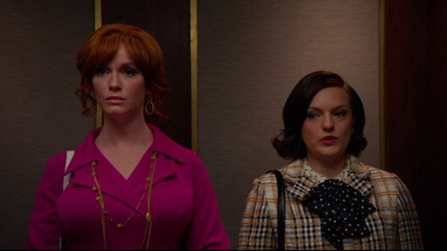 Mad Men 708, Joan with Peggy