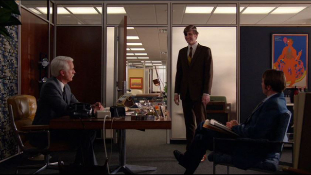 Mad Men 708, Ken with Roger and Pete