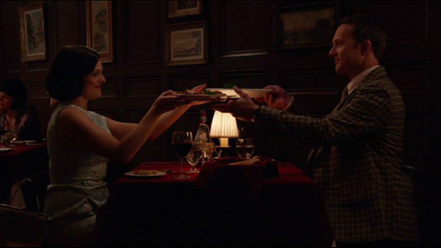 Mad Men 708, Peggy with Steve