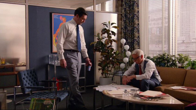 Mad Men 710, Don with Roger