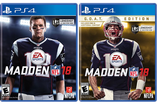 Madden 18 covers
