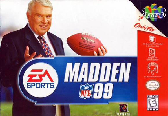 Madden 99 (N64) cover