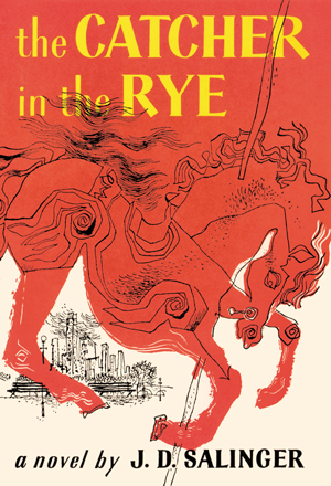 The Catcher in the Rye cover, first edition